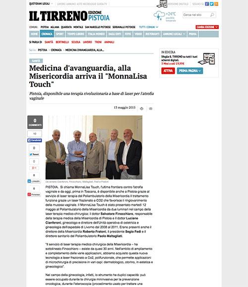 Medicina-davanguardia-alla-Misericordia-arriva-il-MonnaLisa-Touch-Cronaca-il-Tirreno-2015-06-10-17-59-23