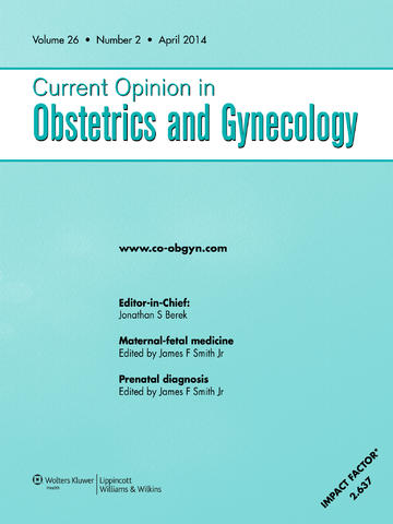 Curr Opin Obstet Gynecol.