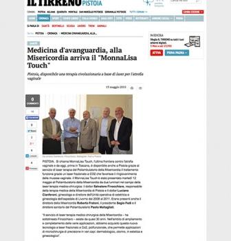 "Medicina d'avanguardia, alla Misericordia arriva il ""MonnaLisa Touch"""